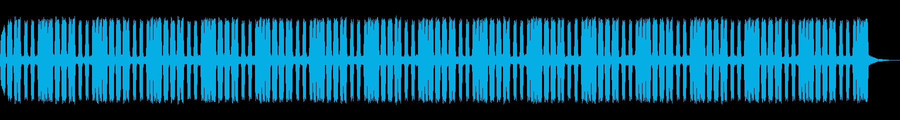 クラクションのループの再生済みの波形