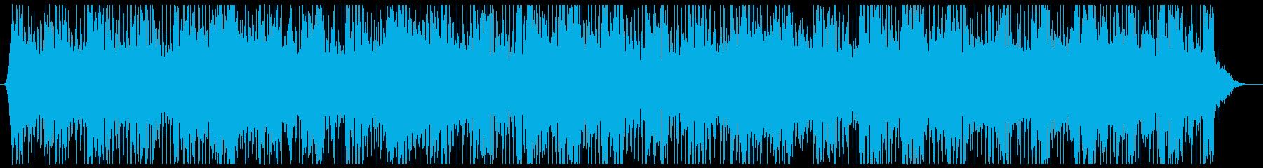 ソフトストリングス、繊細なシンセと...の再生済みの波形