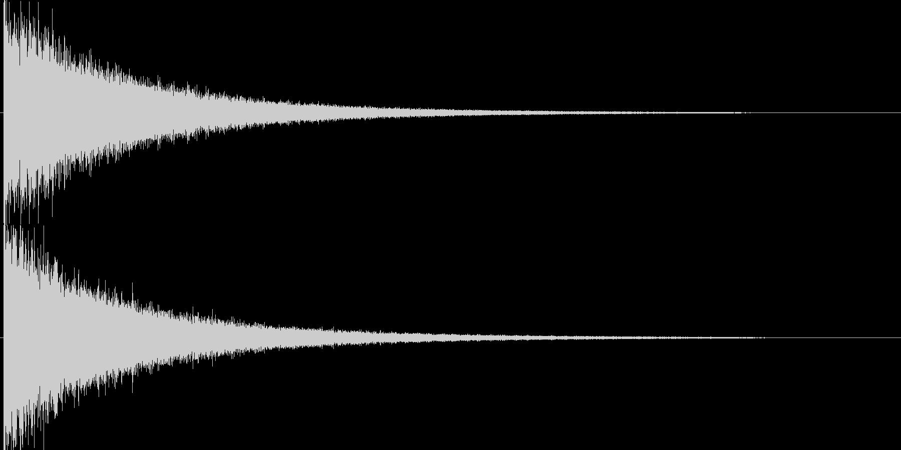 映画告知音155 ドーンの未再生の波形