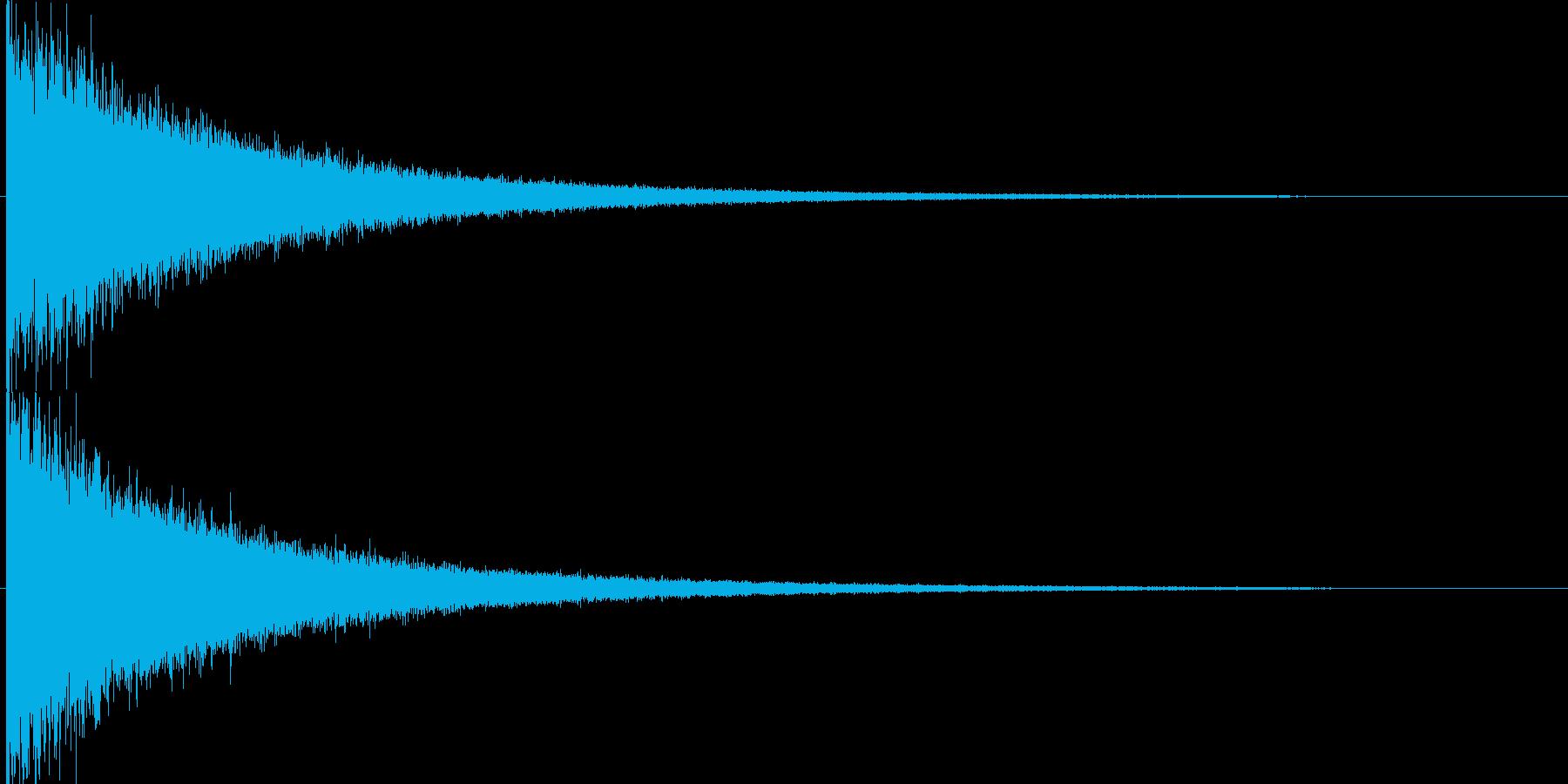映画告知音155 ドーンの再生済みの波形