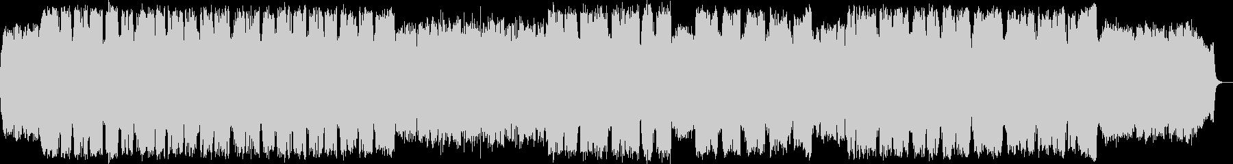 竹笛の低い音色の静かなヒーリング音楽の未再生の波形