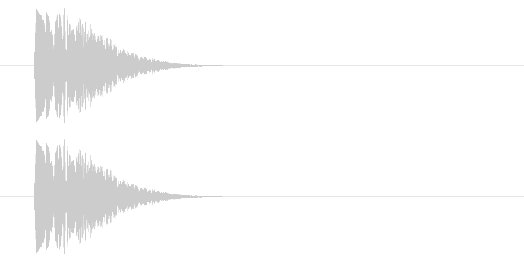 SNES-アクション01-16(アイテムの未再生の波形