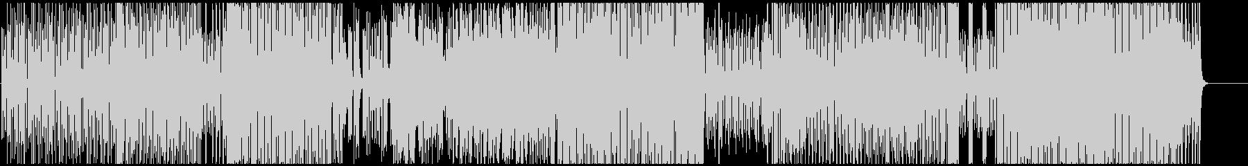 SAXで奏でるノリノリハウスポップスの未再生の波形