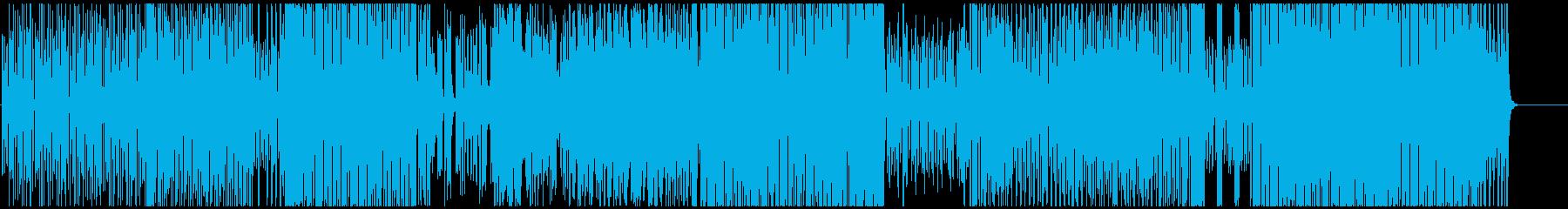 SAXで奏でるノリノリハウスポップスの再生済みの波形
