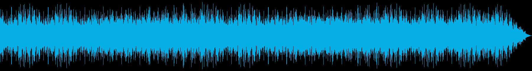 不穏なインストヒップホップの再生済みの波形
