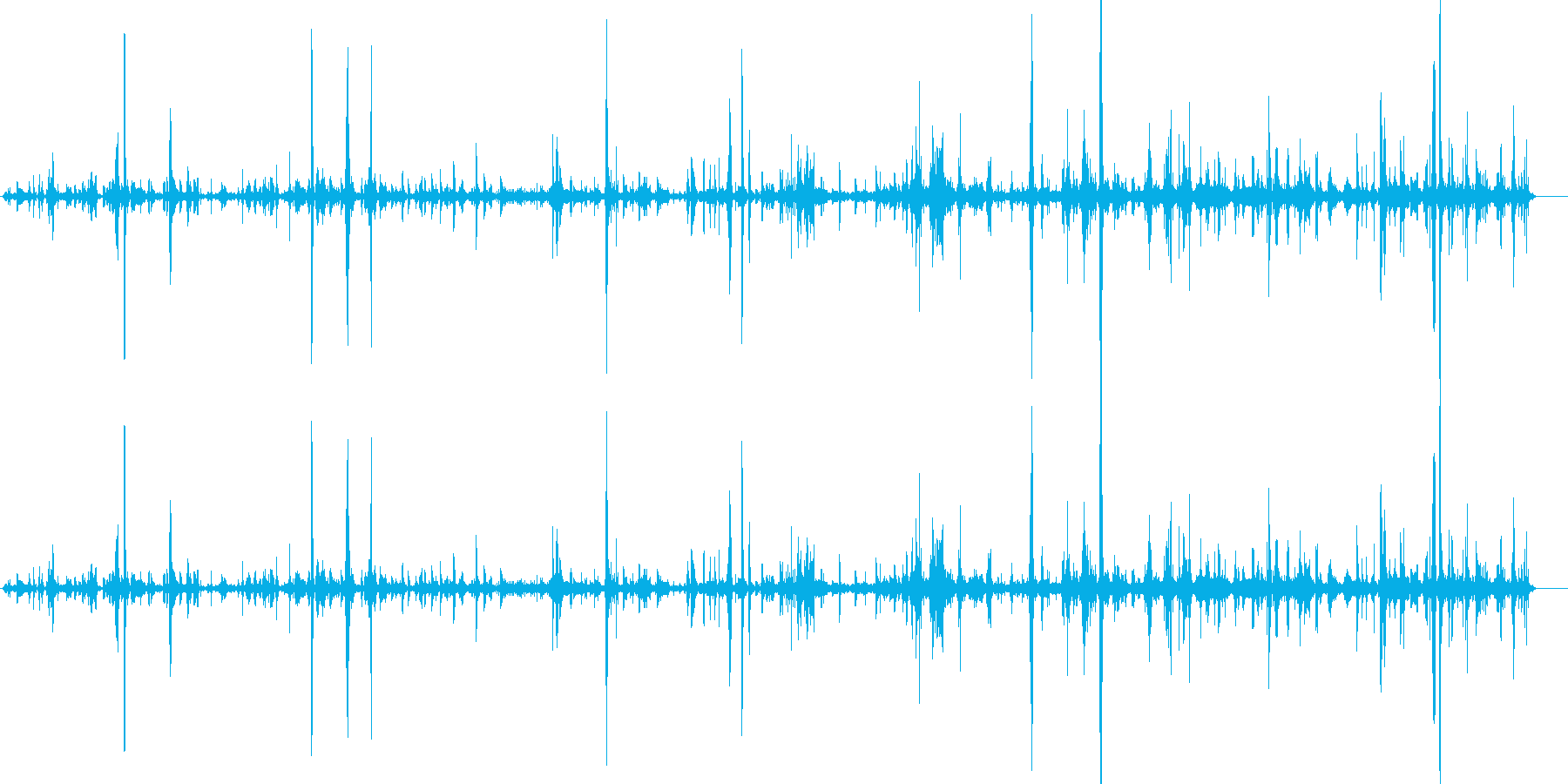 ケージ-動物ストアの再生済みの波形