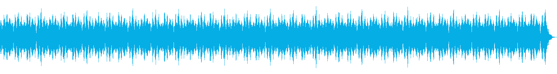 (夏)癒し風鈴とハープの日本風BGMの再生済みの波形