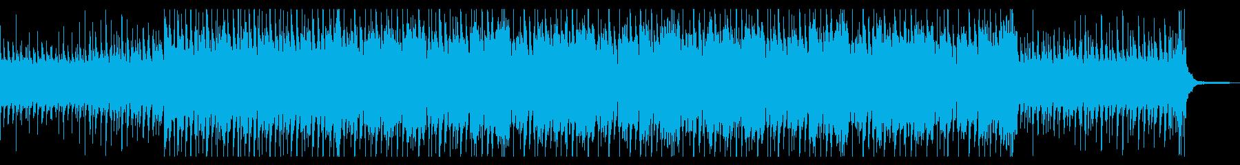 企業VPや映像 爽やか・前向き・青空の再生済みの波形