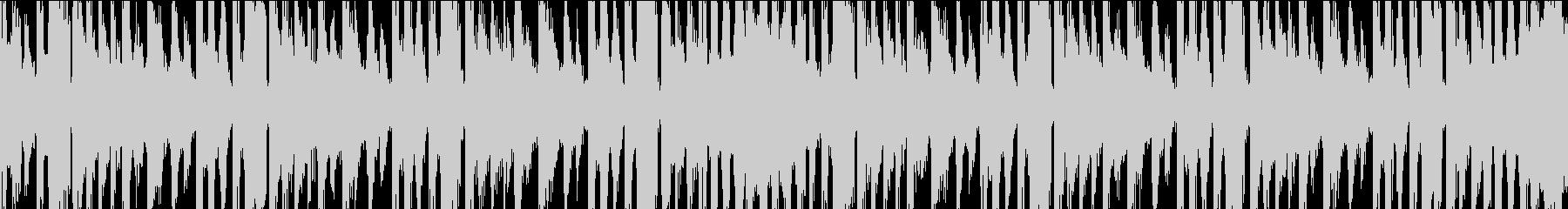メニュー、キャラ選択等(ループ・20秒)の未再生の波形
