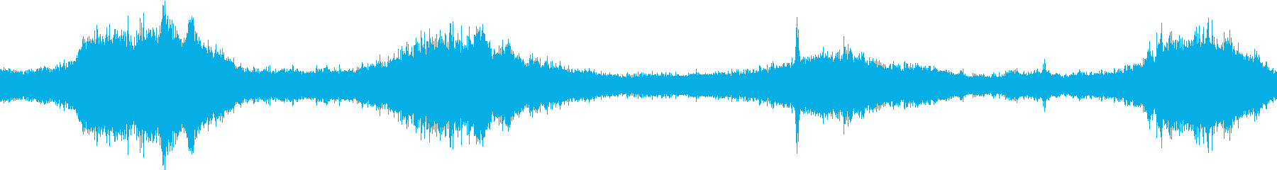 波の海の入り江の再生済みの波形