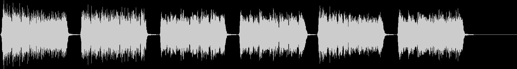 きらきら星(6歳女の子歌唱)アカペラの未再生の波形