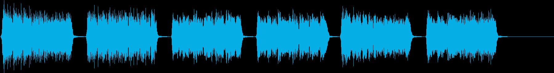 きらきら星(6歳女の子歌唱)アカペラの再生済みの波形