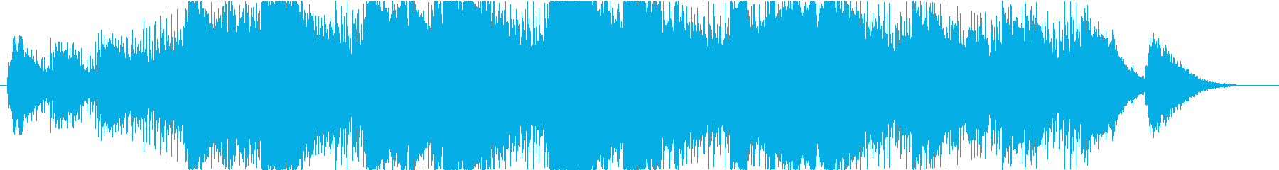 ゆったりと爽やかなサックスBGMの再生済みの波形