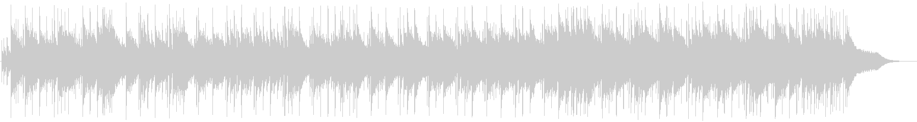 Clean and bright wedding style BGM's unreproduced waveform