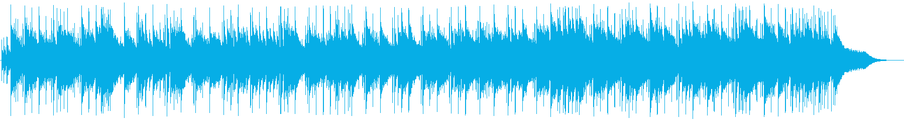 Clean and bright wedding style BGM's reproduced waveform
