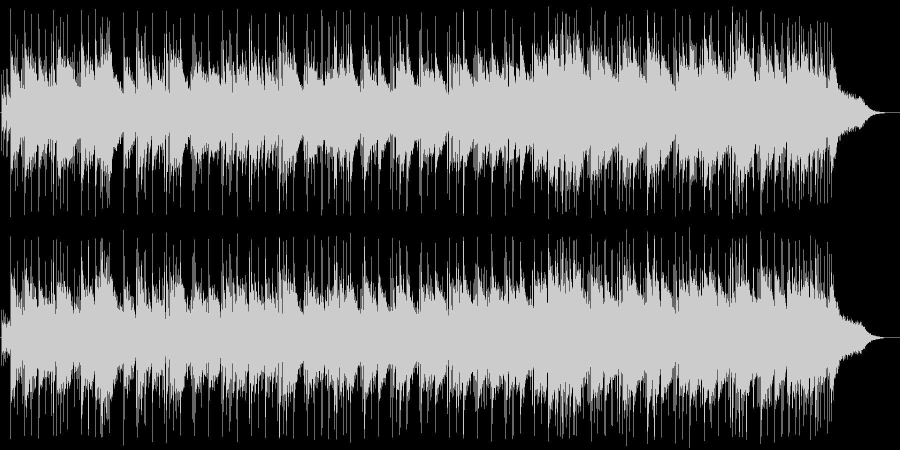 清らかで明るいウエディング風BGMの未再生の波形