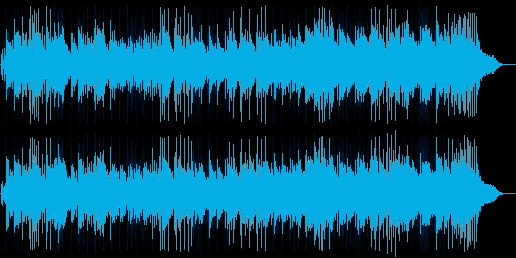 清らかで明るいウエディング風BGMの再生済みの波形