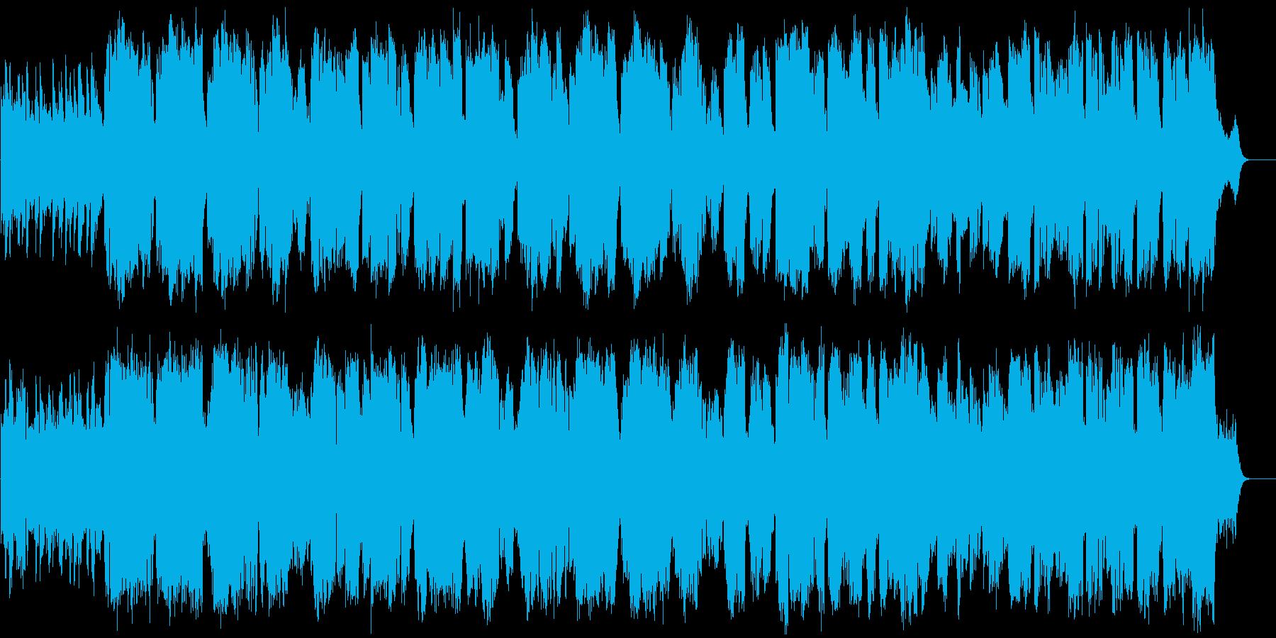 ケルティック風イメージで作った曲です。…の再生済みの波形