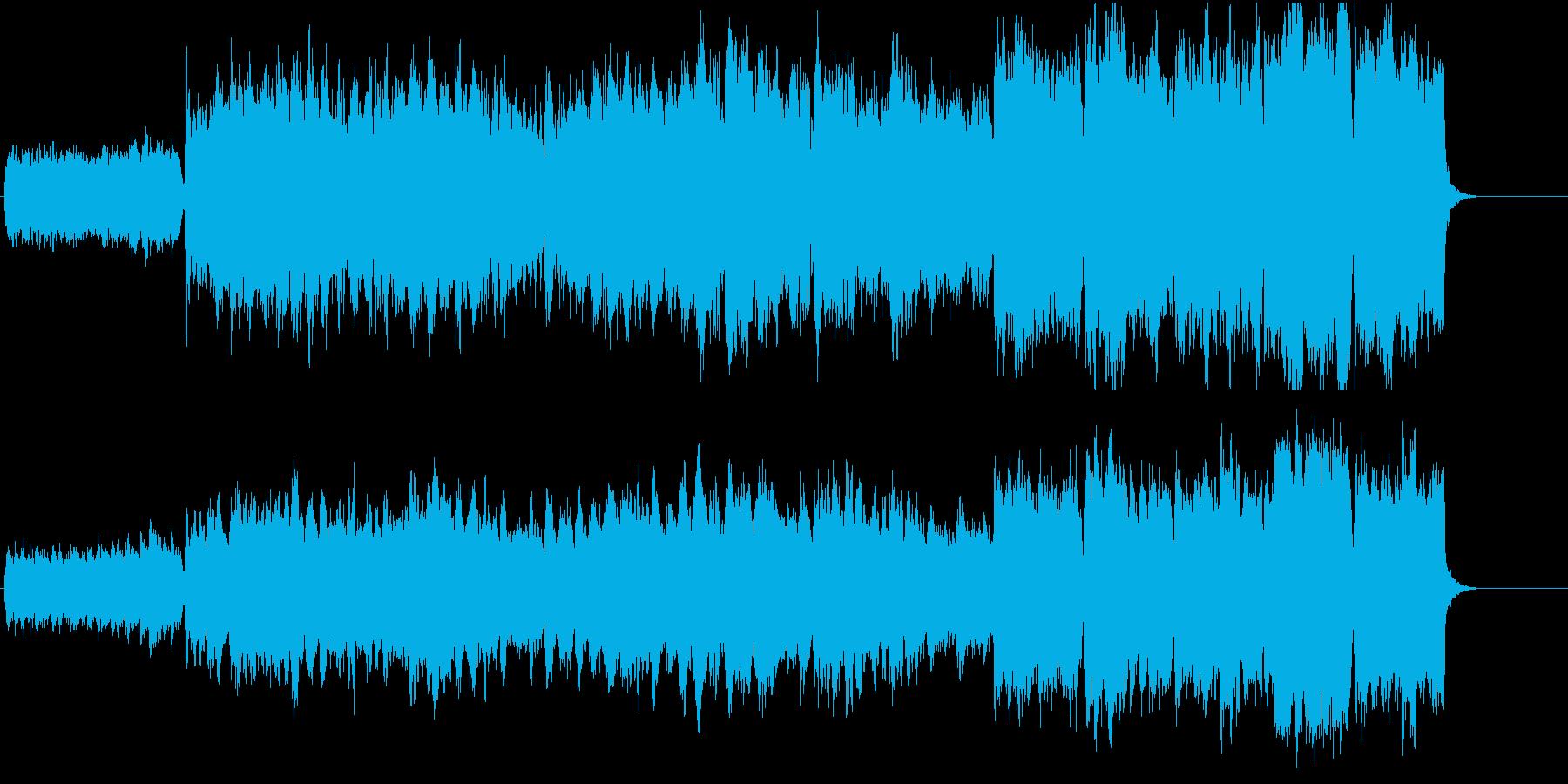 ブライダル 幸福 恋愛 感動 目覚めの再生済みの波形