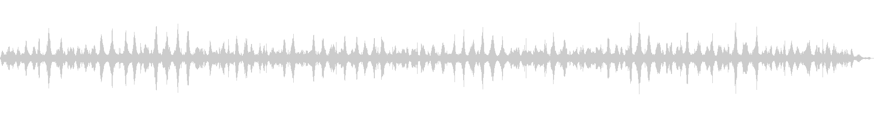 【環境音】波音 (和田長浜海岸)の未再生の波形