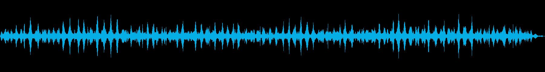 【環境音】波音 (和田長浜海岸)の再生済みの波形