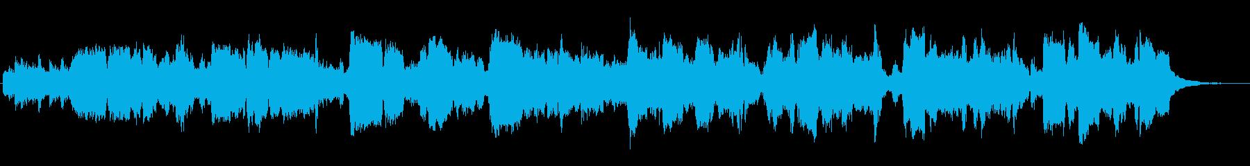 長ねぎをテーマにした楽曲の再生済みの波形
