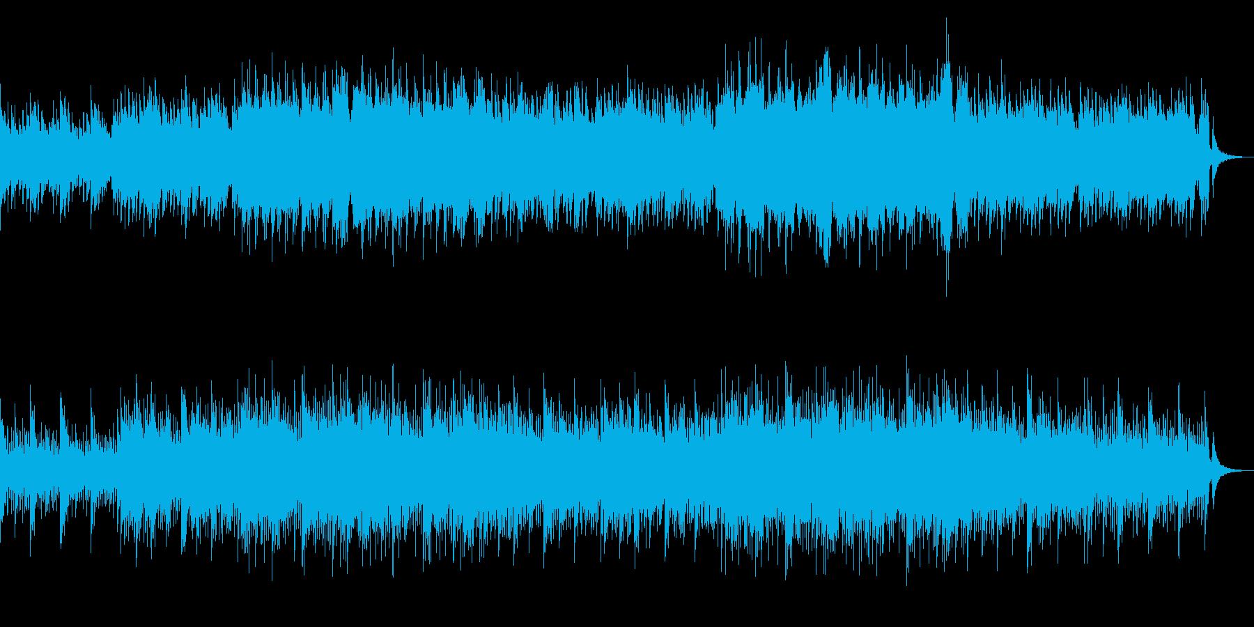 優しくて感動的なピアノ&ストリングスの再生済みの波形