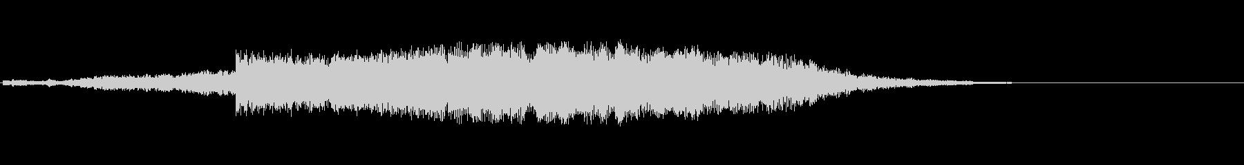 オーロラをイメージした効果音です。キラ…の未再生の波形