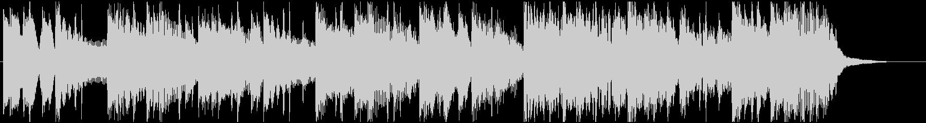 洋楽 R&Bジングル ピアノ サックスの未再生の波形