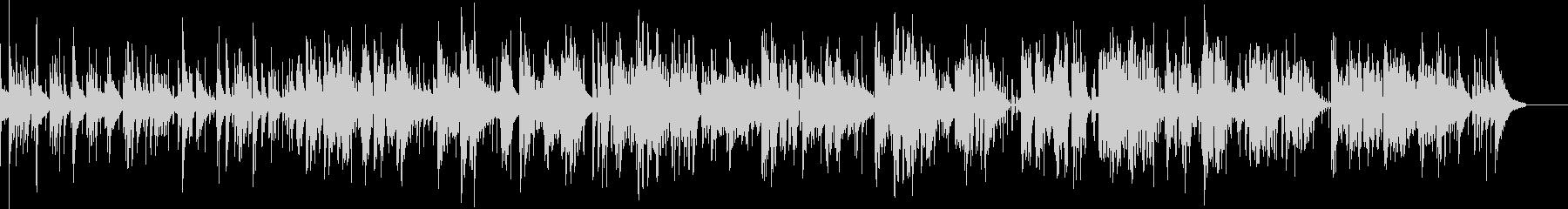 ヴィブラフォンが奏でるバラードナンバー の未再生の波形