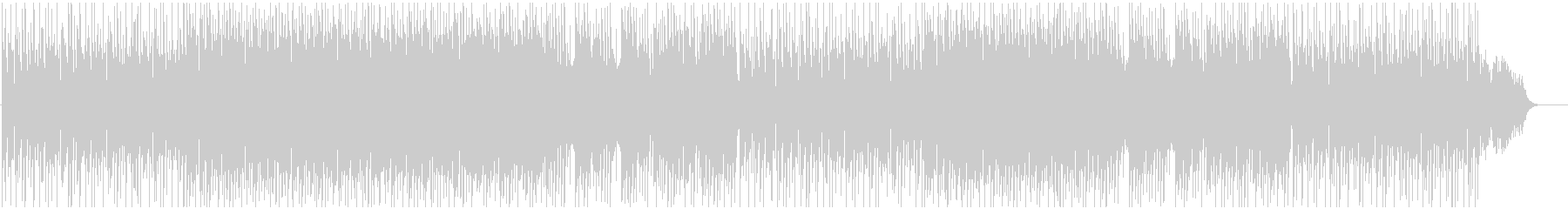 BGM of light and bright melody's unreproduced waveform
