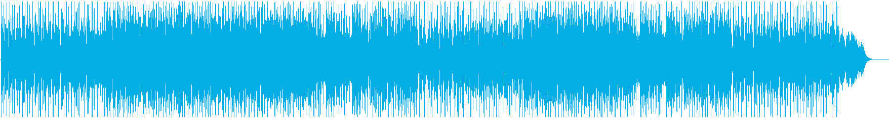 BGM of light and bright melody's reproduced waveform