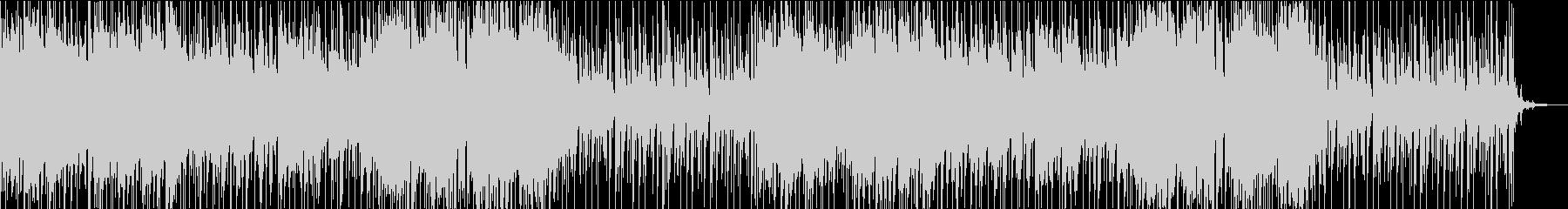 映像向けバラードBGMの未再生の波形