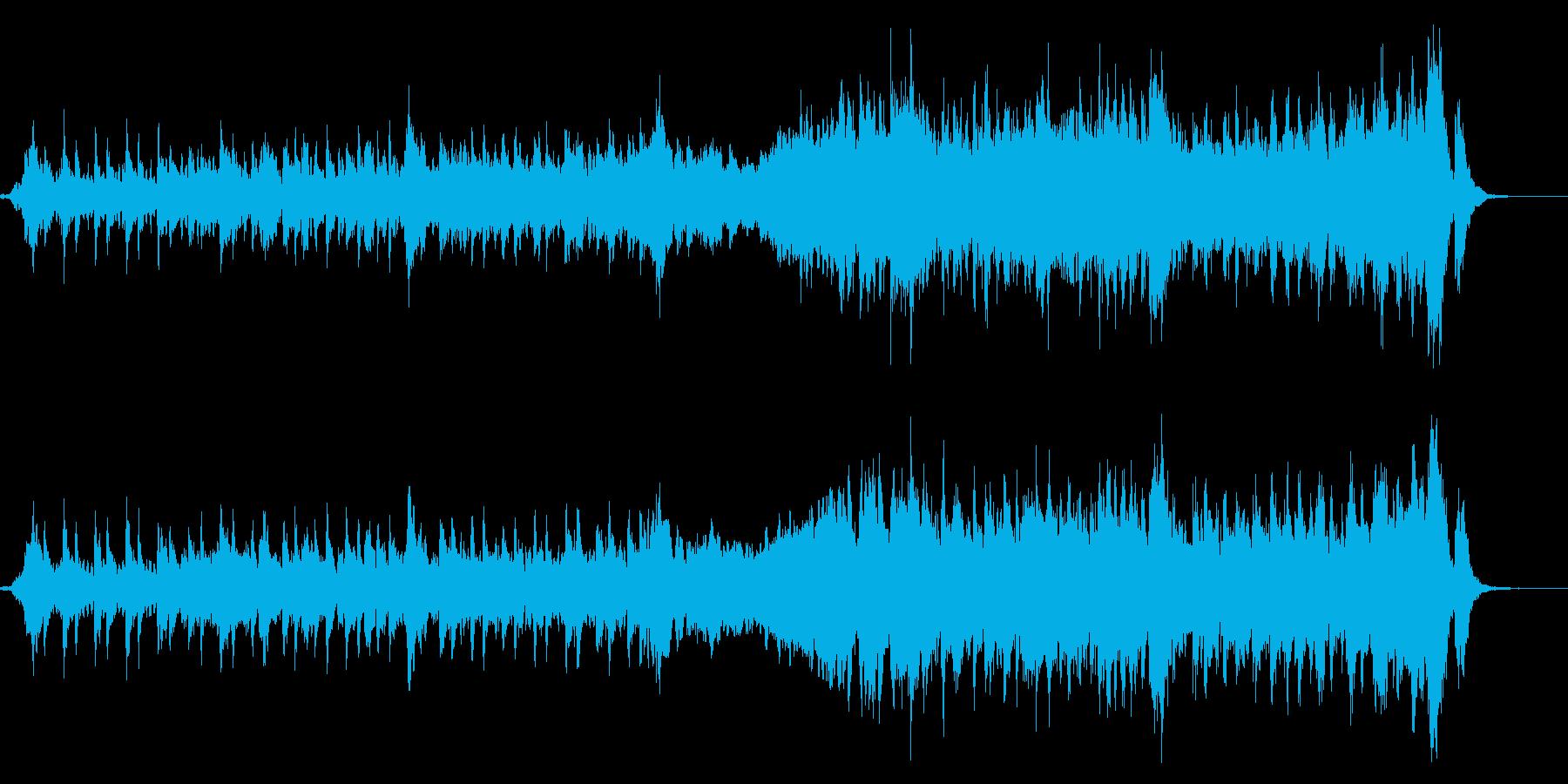 わくわくするオープニング系オーケストラの再生済みの波形