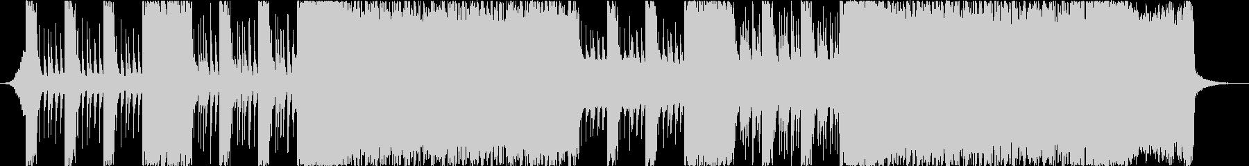 和楽器とシンセでロックなBGMの未再生の波形