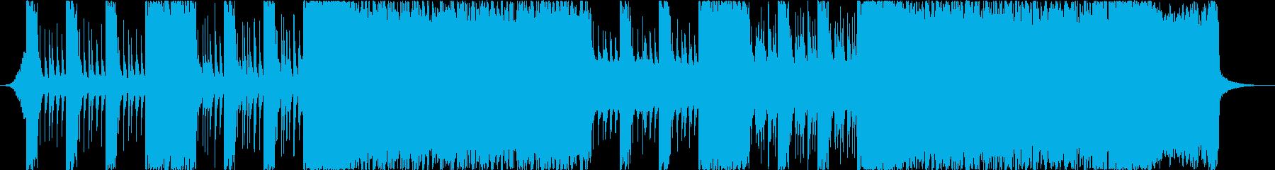 和楽器とシンセでロックなBGMの再生済みの波形