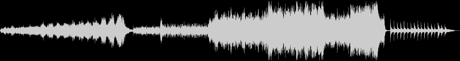 北欧風オーケストラアンビエント メロ無版の未再生の波形