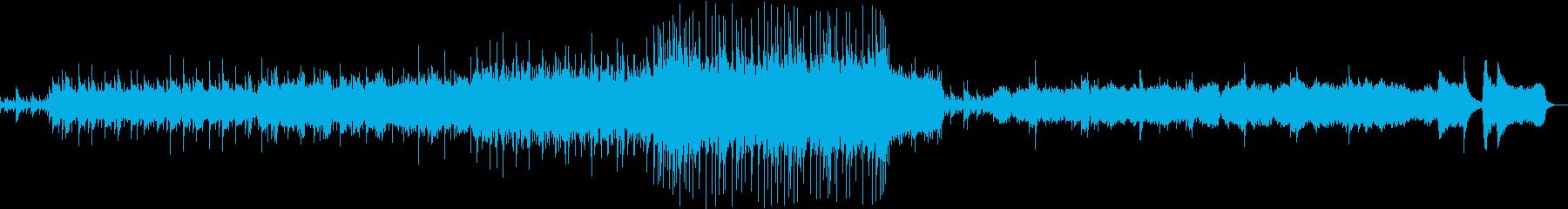 厳粛な行進曲風の再生済みの波形