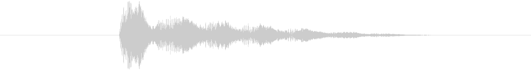 プルプル音(スライム・ゼリー系)7の未再生の波形