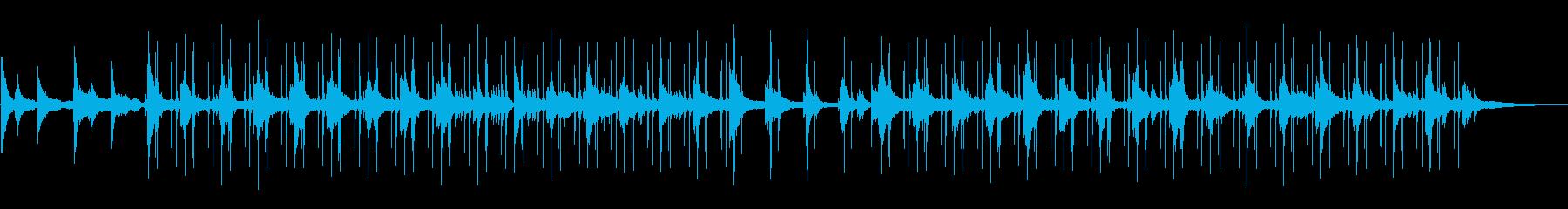 (雨音抜き)ジャズLo-fi チルアウトの再生済みの波形