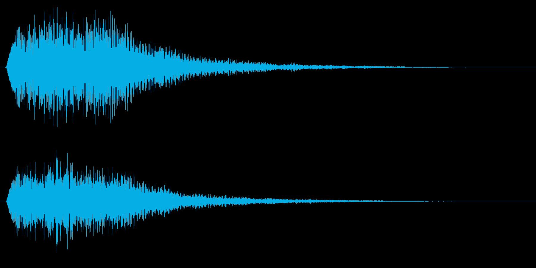場面転換/ピアノ/変身の再生済みの波形