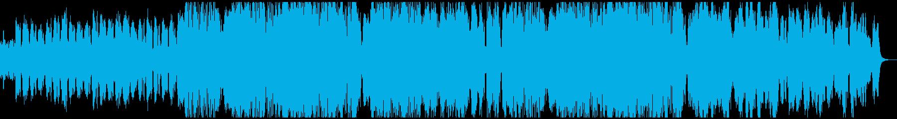 これは、空気のような暗いドラムとベ...の再生済みの波形
