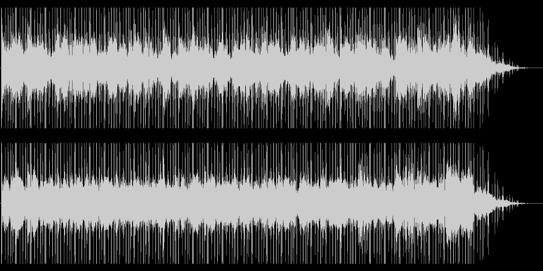 アンニュイなBGMの未再生の波形