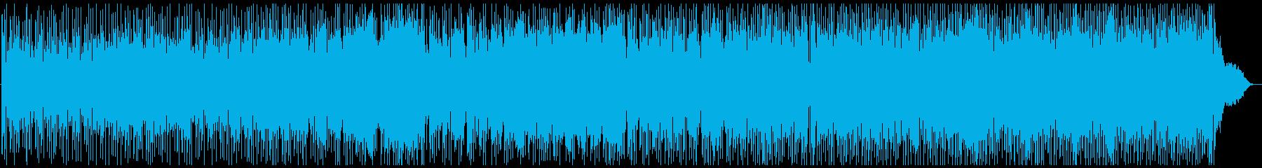 和風フュージョン(熊本民謡のアレンジ)の再生済みの波形