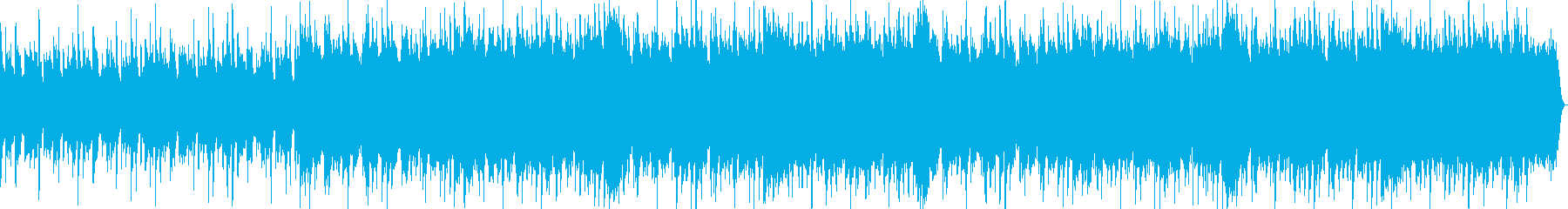 ファンタシーなジャズ風BGMの再生済みの波形