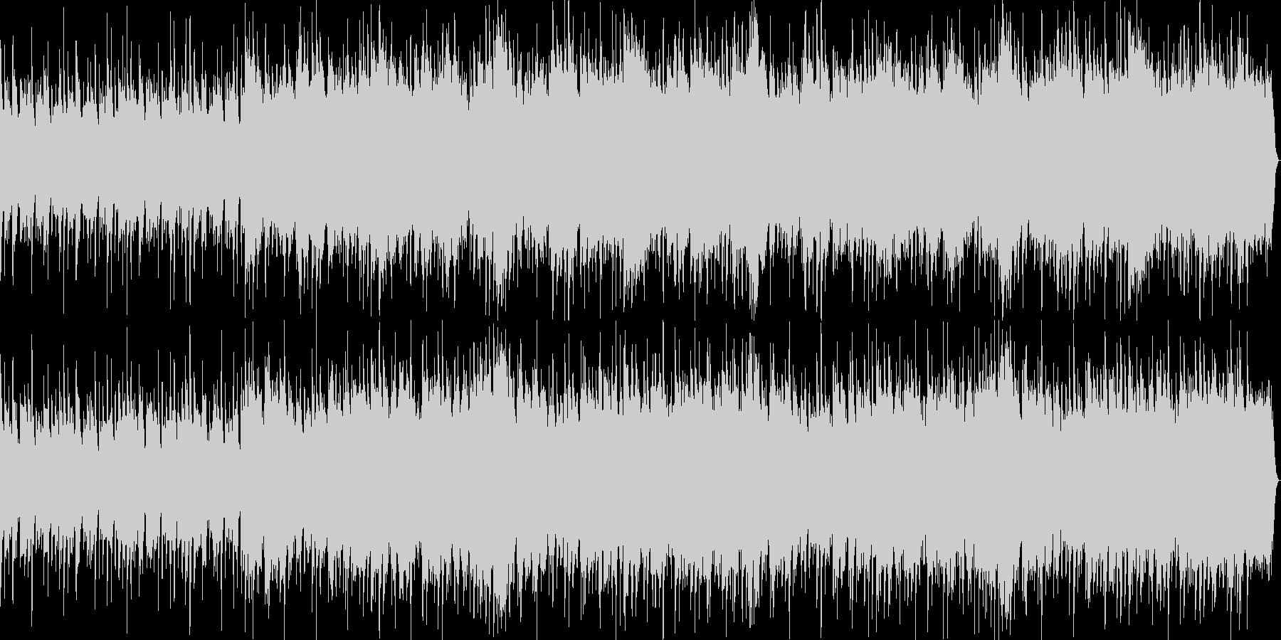 ファンタシーなジャズ風BGMの未再生の波形