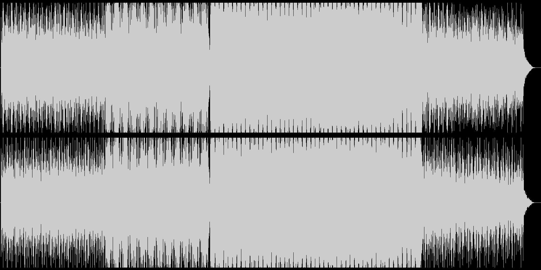 広がりのあるエレクトロサウンド.01の未再生の波形