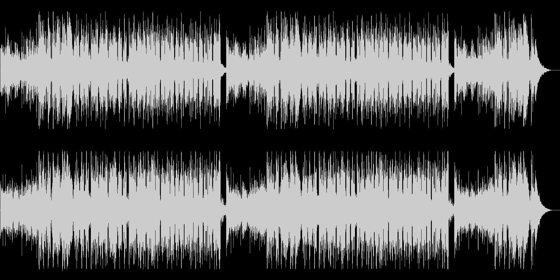やわらかい雰囲気のリラックスBGMの未再生の波形