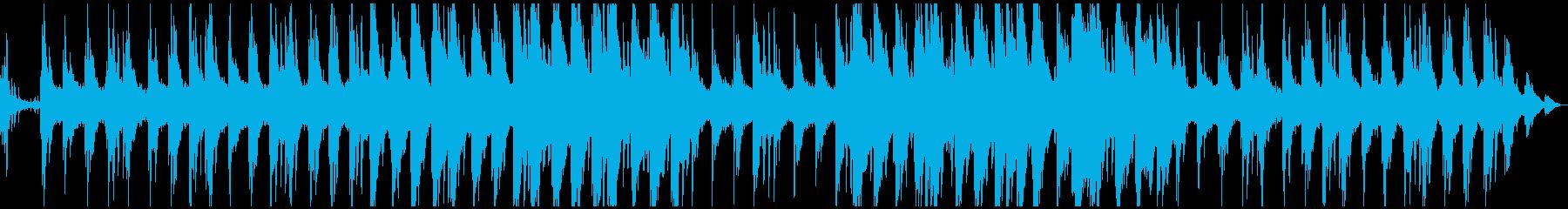ピアノと自然の音が心地よいサウンドの再生済みの波形