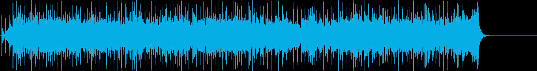 オープニング 挑戦 前進 テーマ 躍動の再生済みの波形